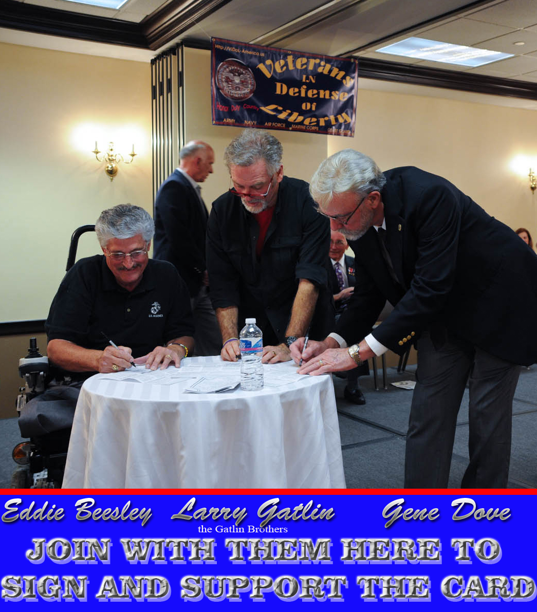 simultaneous signing of first three cards
